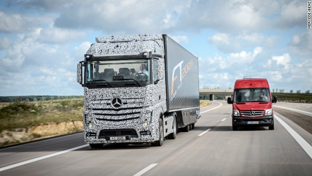 Truck of the future aims to drive itself