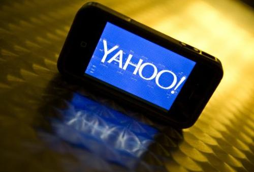 Yahoo grabs for Android smartphone homescreen