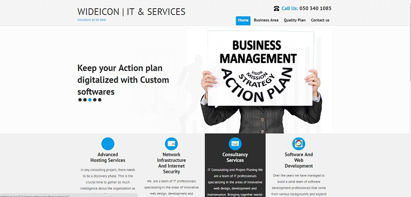 Wideicon IT & Services is a Middle East based IT Solutions. The requirement to iCynta Solutions was a produce an…